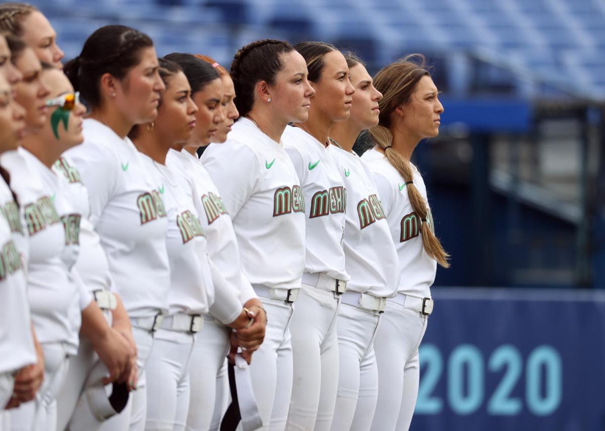 Olympic Mexico softball team