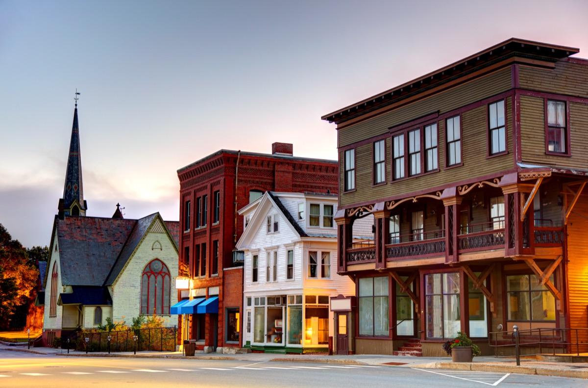 Cityscape photo of St. Johnsbury, Vermont