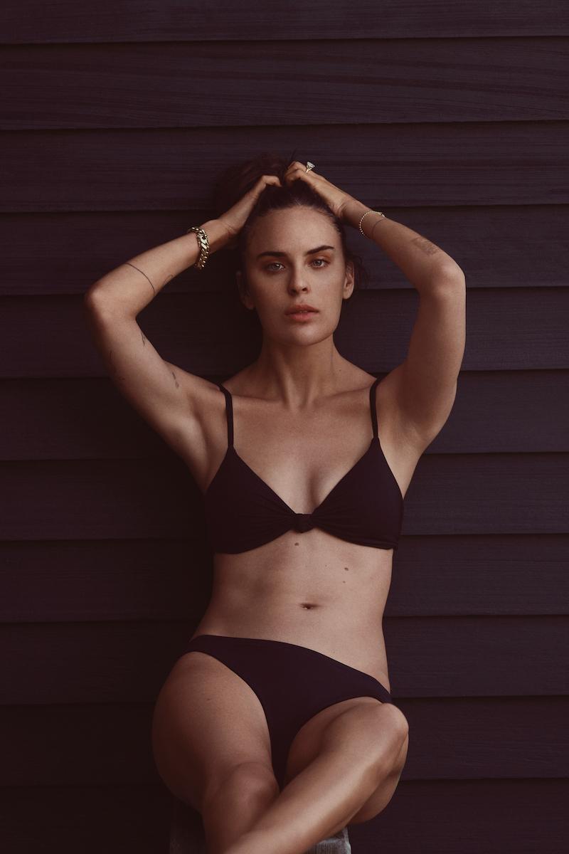Tallulah Willis models Andie swimsuit