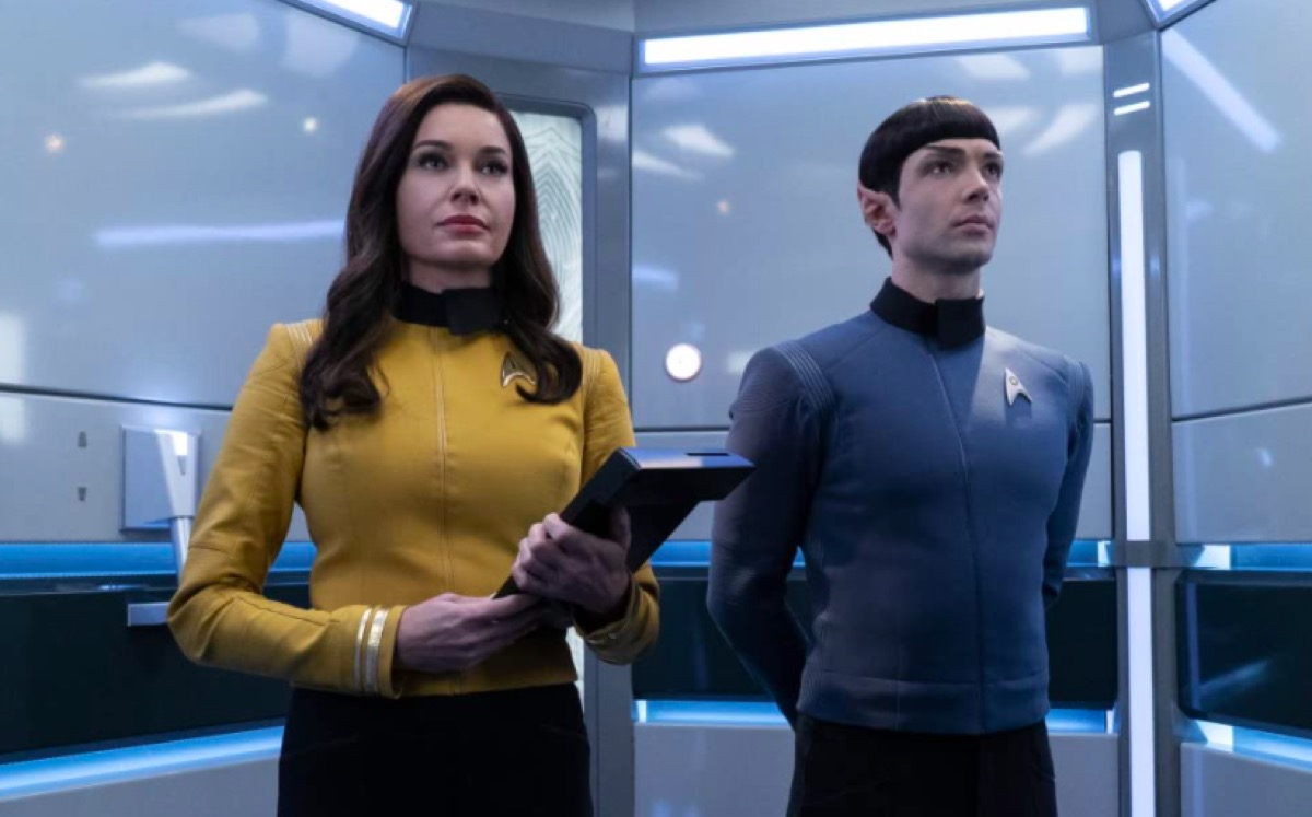 Gregory Peck's grandson Ethan Peck in Star Trek