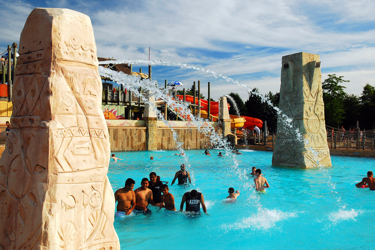 Six Flags waterpark