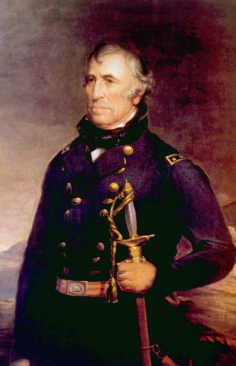 Zachary Taylor (1784-1850), U.S. President (1849-1850)
