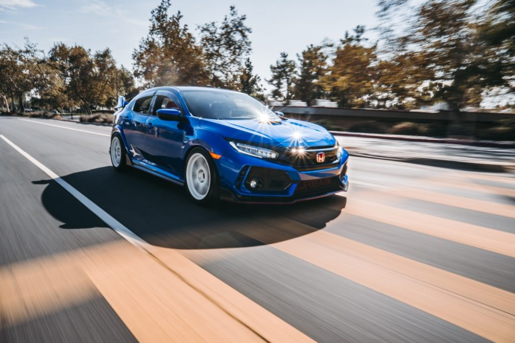 a blue Honda Accord car