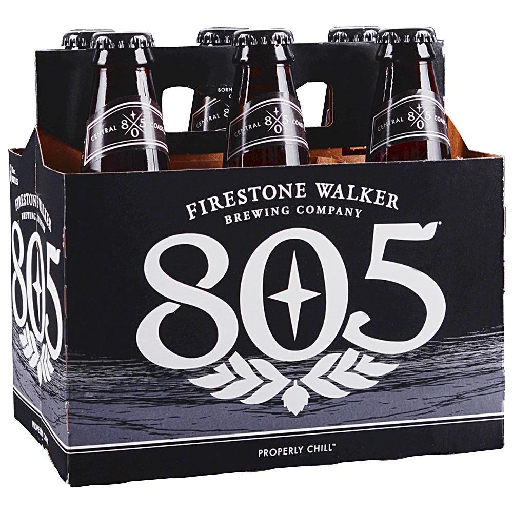 Six pack of 805 Beer