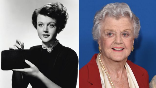 Angela Lansbury then and now