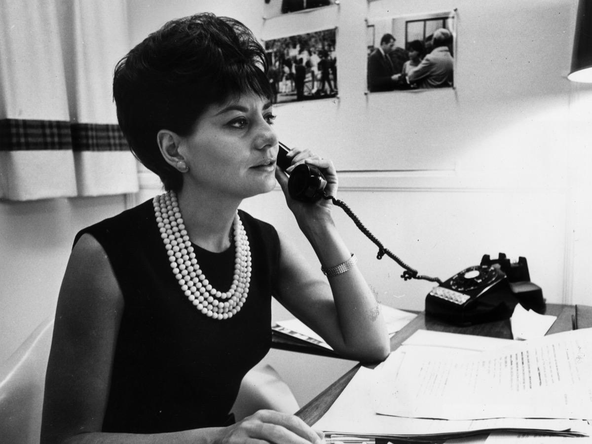 Barbara Walters in 1964