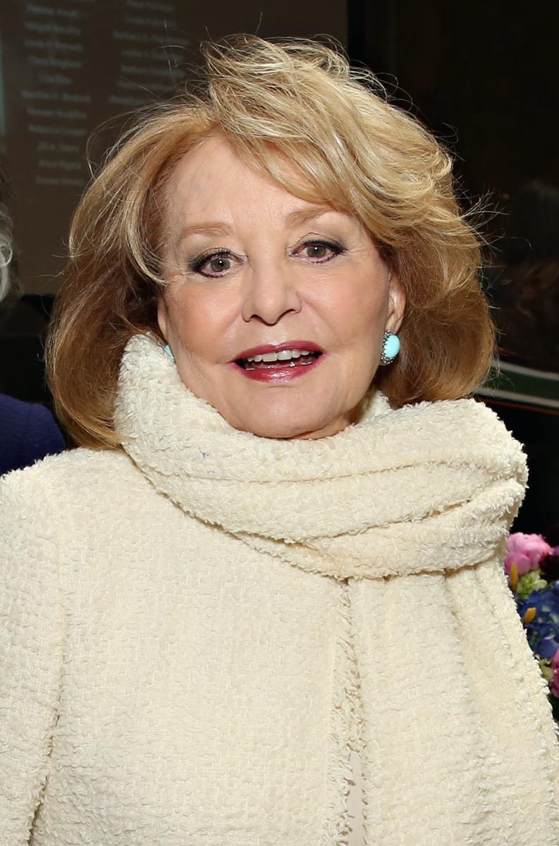 Barbara Walters in 2016