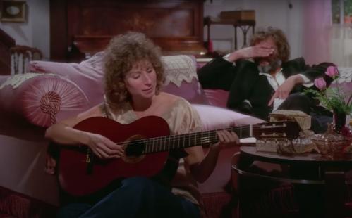 "Barbra Streisand and Kris Kristofferson in ""A Star Is Born'"