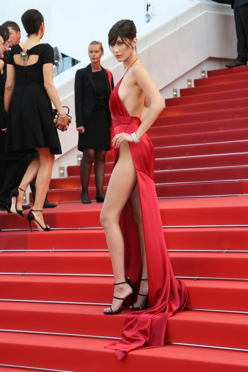 Bella Hadid at the 2016 Cannes Film Festival
