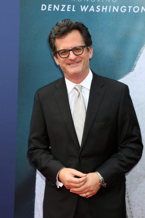 Ben Mankiewicz at AFI Honors Denzel Washington in 2019