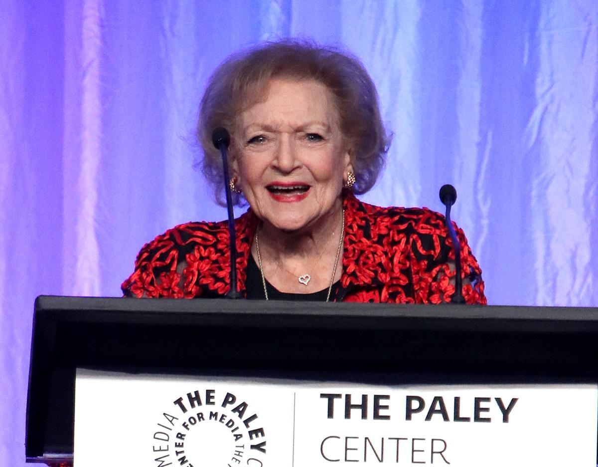 Betty White in 2017