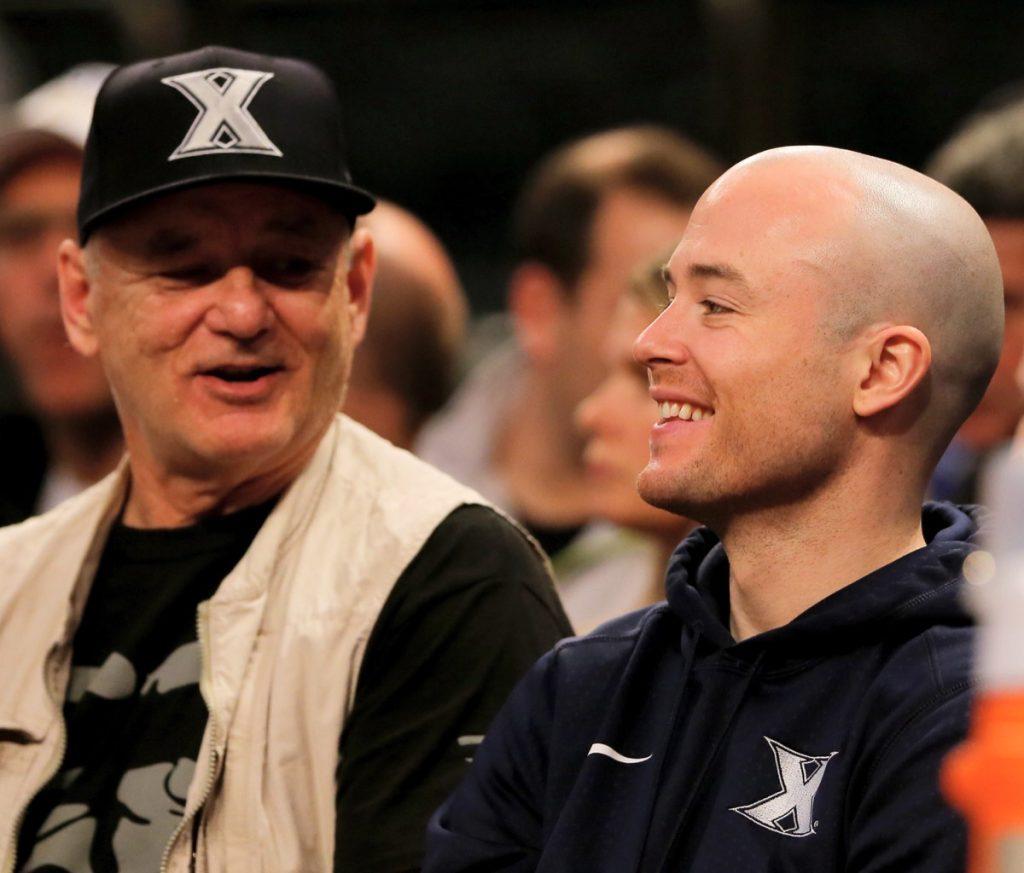 Bill Murray and son Luke Murray
