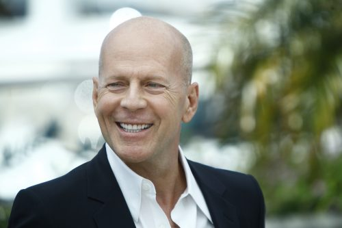 Bruce Willis at the Cannes Film Festival in 2012