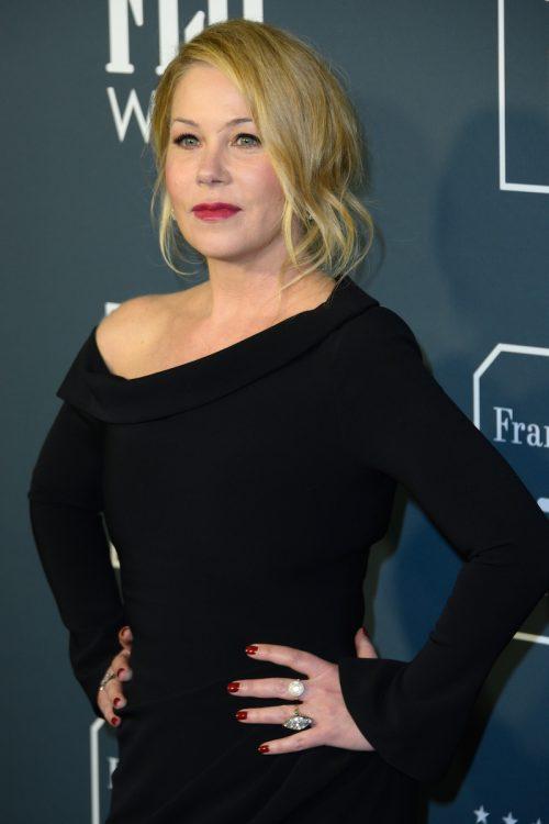 Christina Applegate at the Critics Choice Awards in 2020