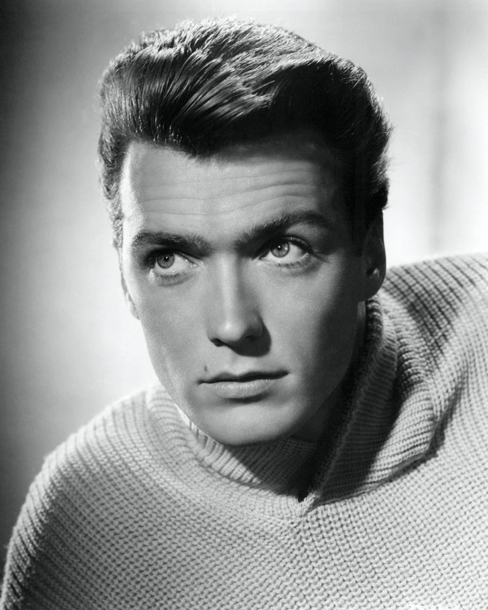 Clint Eastwood in 1955