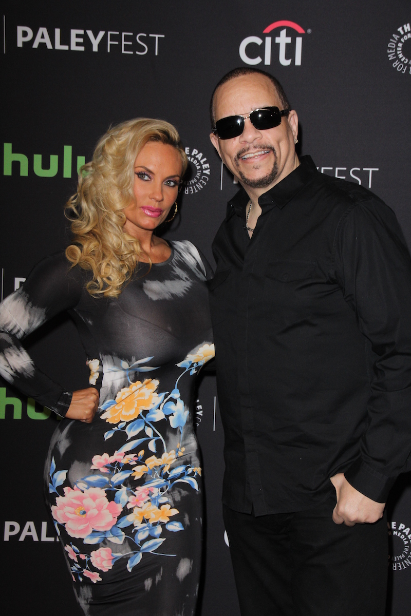 Coco Austin and Ice-T at the PaleyFest 2016 Dick Wolf Salute