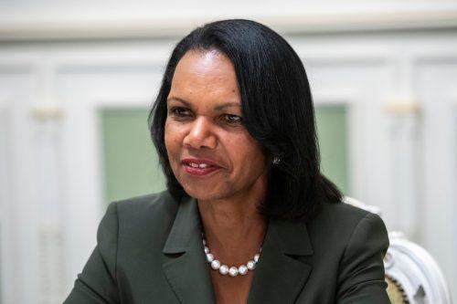 Condoleeza Rice in Kyiv, Ukraine in 2018