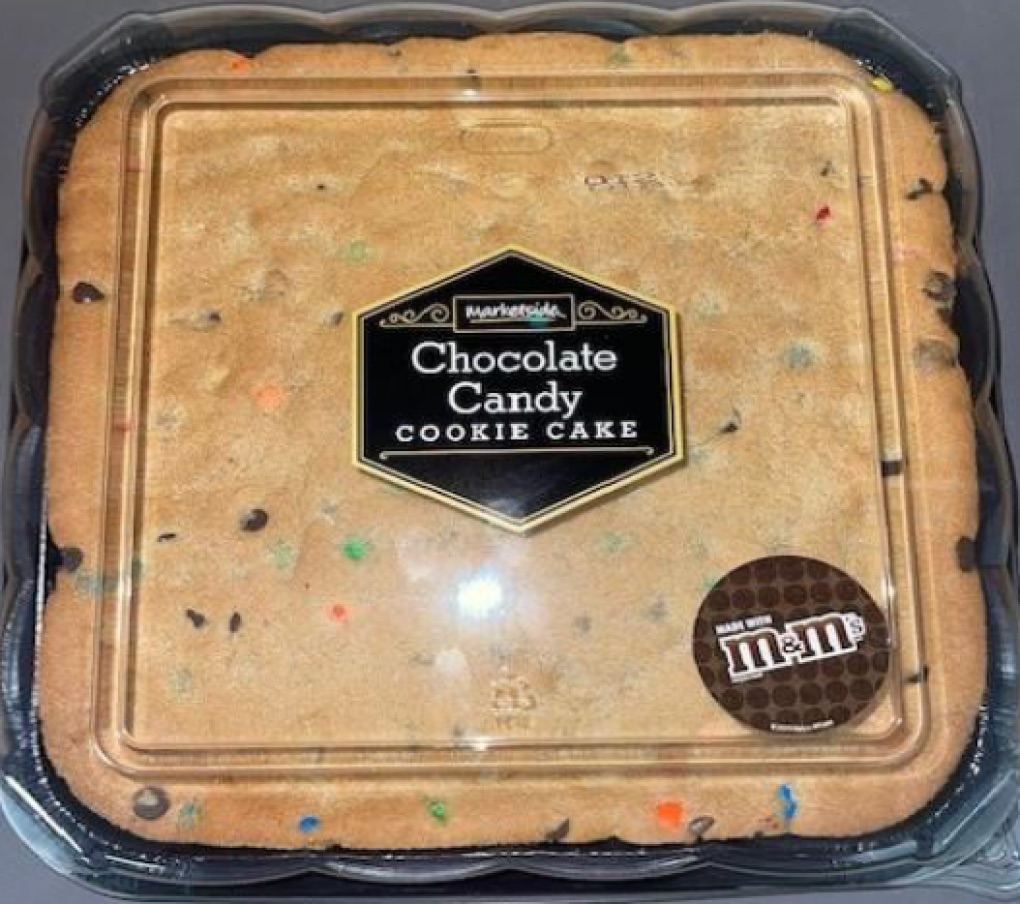 Recalled Cookie Cake From Walmart