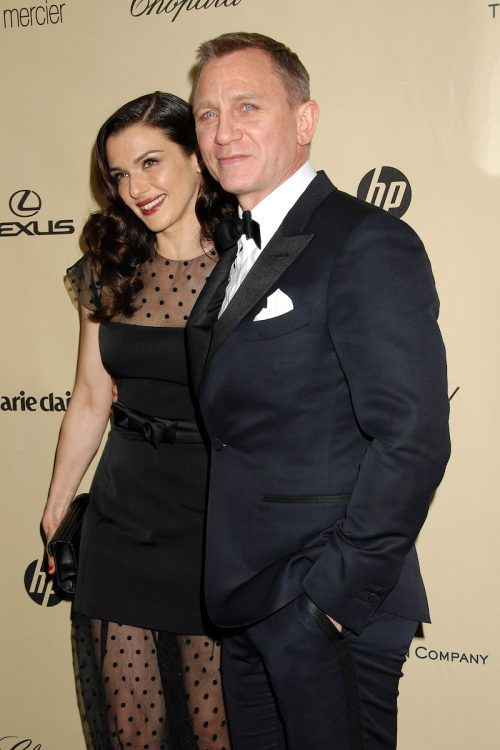 Rachel Weisz and Daniel Craig at the Weinstein Company Golden Globes After Party in 2013