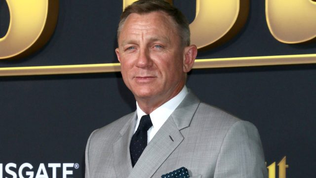 """Daniel Craig at the premiere of """"Knives Out"""" in 2019"""