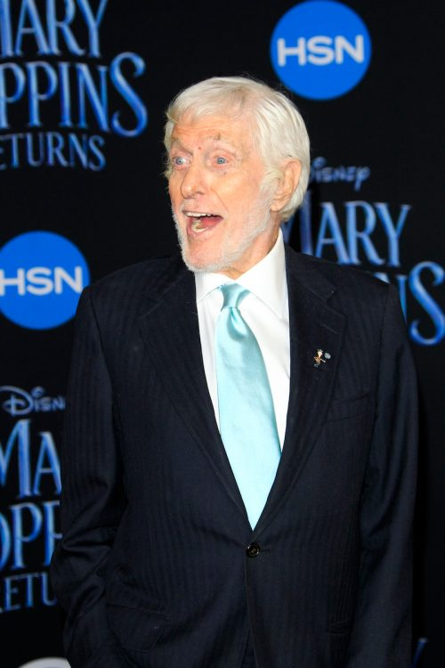 """Dick Van Dyke at the premiere of """"Mary Poppins Returns"""" in 2018"""