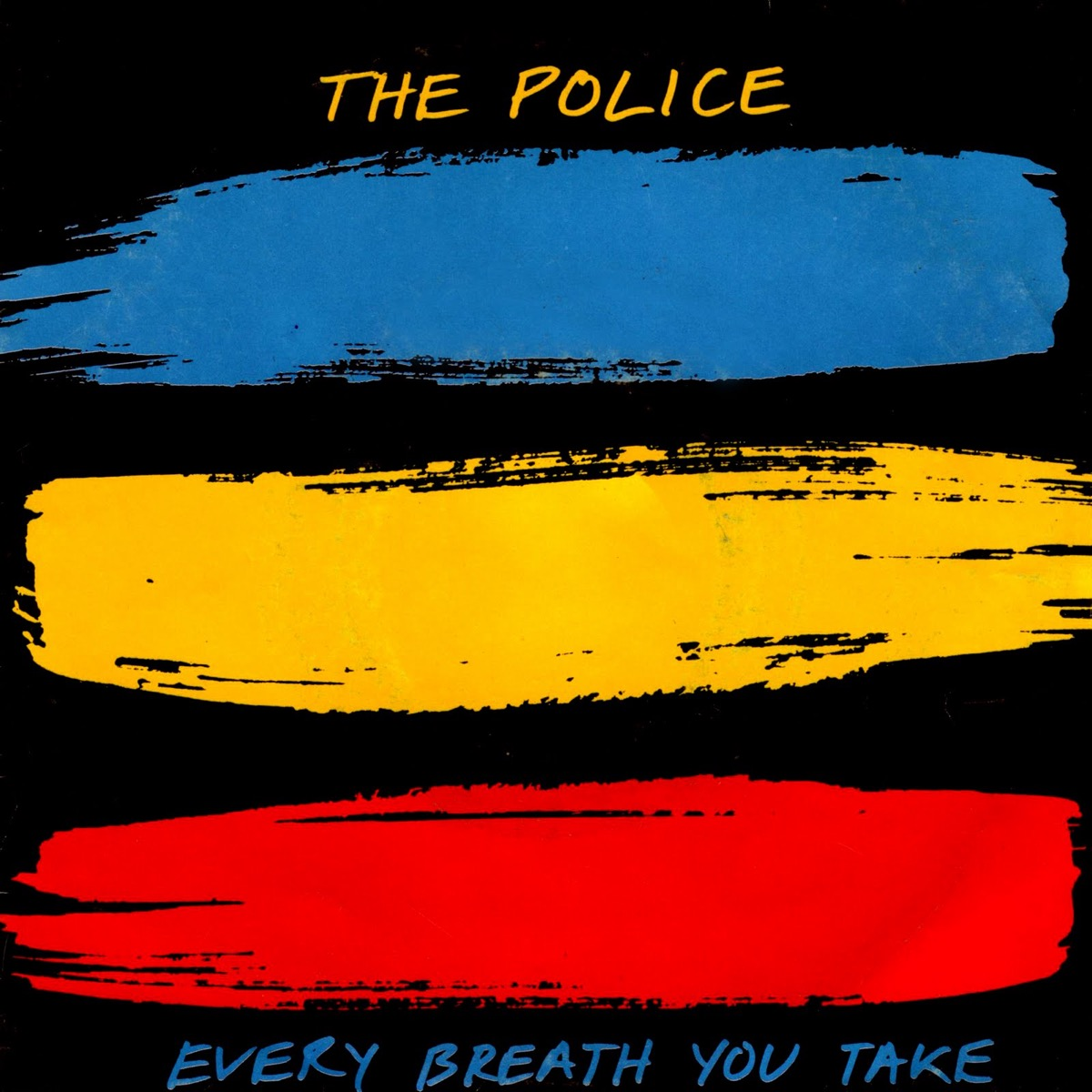 """The Police """"Every Breath You Take"""" single cover"""