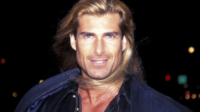 Fabio at the benefit for Homeless Children in 1995