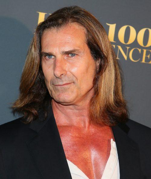 Fabio at the Maxim Hot 100 Experience in 2018