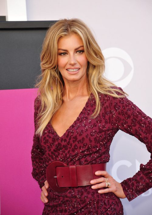 Faith Hill at the 2017 Academy of Country Music Awards
