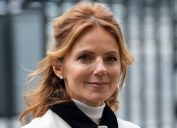 Geri Halliwell at Commonwealth Day Service at Westminster Abbey in March 2020