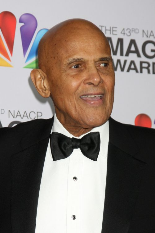 Harry Belafonte at the NAACP Image Awards in 2012