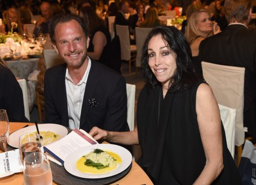 Andrew Weinstein and Heidi Fleiss at The Humane Society of the United States' To the Rescue Los Angeles Gala in 2017
