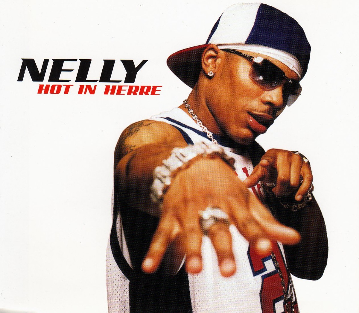 """Nelly """"Hot in Herre"""" single cover"""