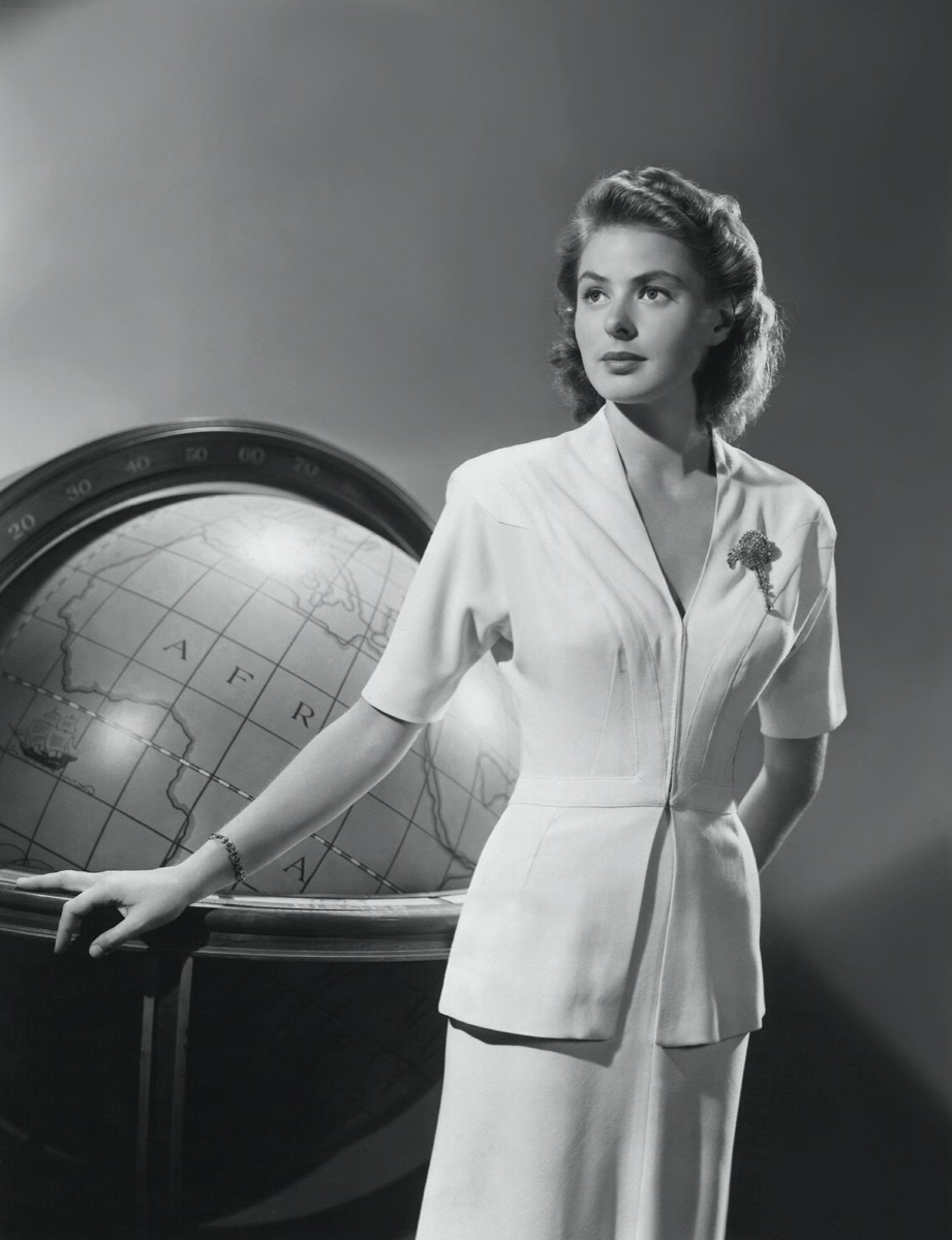 """Ingrid Bergman in """"Casablanca"""" publicity still"""