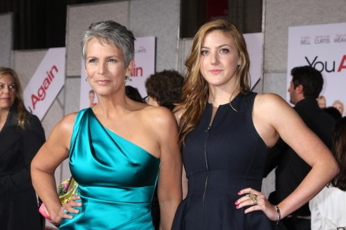 """Jamie Lee Curtis and Annie Guest at the premiere of """"You Again"""" in 2010"""