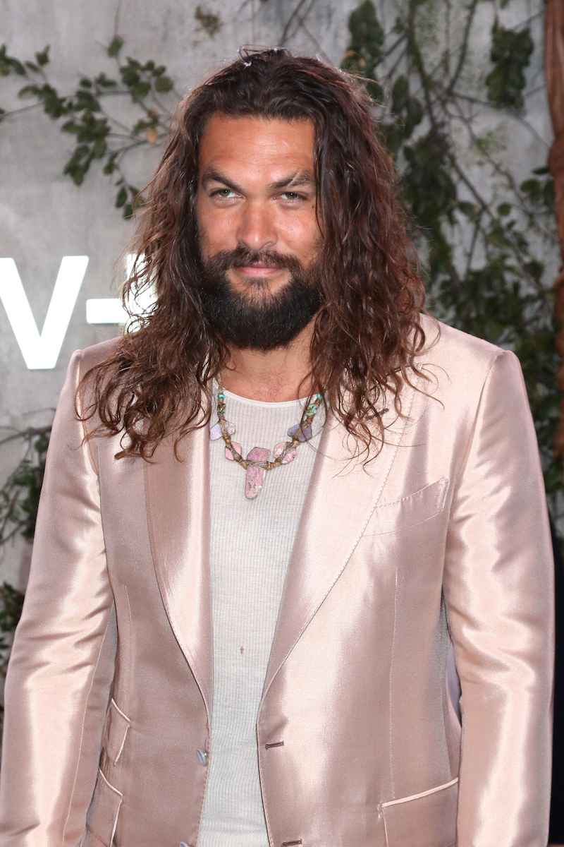 """Jason Momoa at the premiere of """"See"""" in 2019"""
