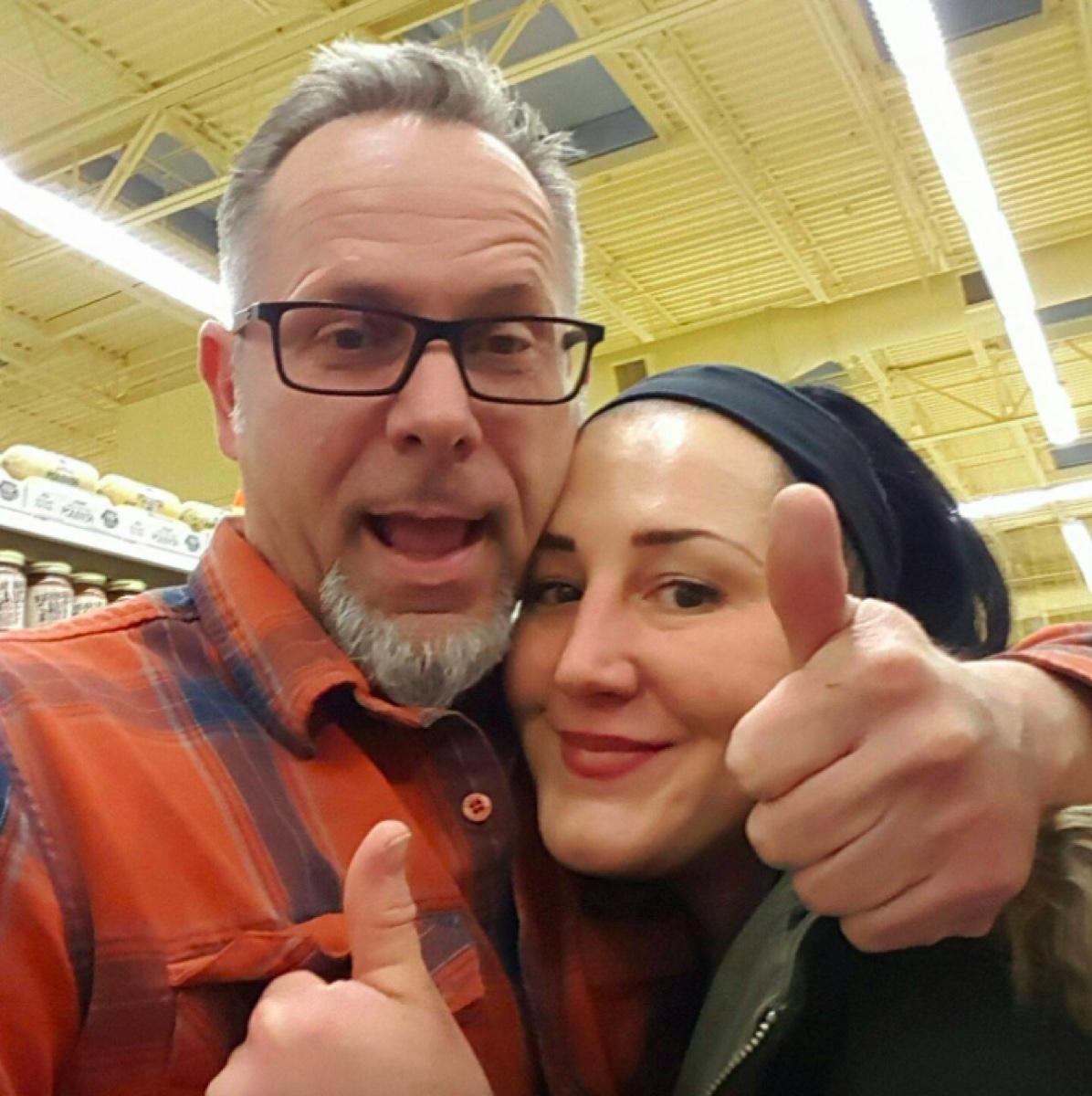 Jeff Stone and wife Christy Novasio