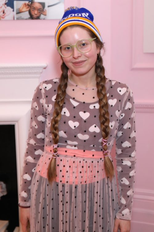 Jessie Cave at the Glossier UK launch party in 2017