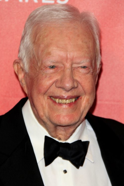 Jimmy Carter at the MusiCares 2015 Person of the year Gala
