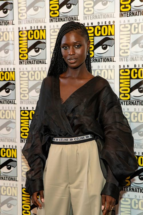 Jodie Turner-Smith at San Diego Comic-Con in 2018