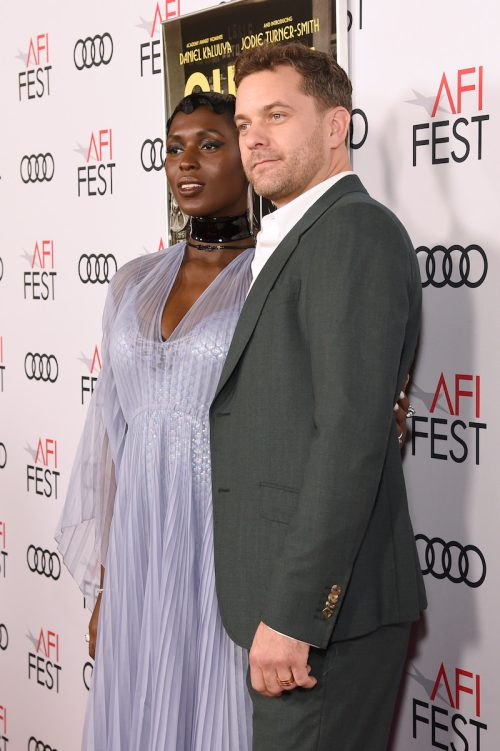 """Jodie Turner-Smith and Joshua Jackson at AFI Fest 2019 premiere of """"Queen & Slim"""""""