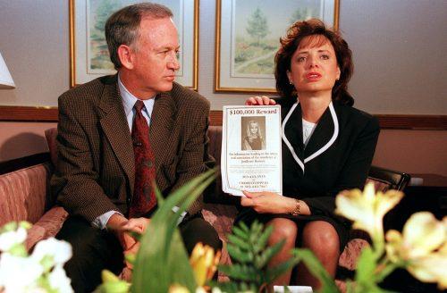 JonBenet Ramsey's parents, John and Patricia Ramsey, in 1997