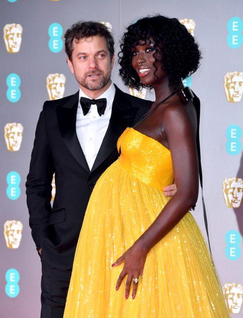 Joshua Jackson and Jodie Turner-Smith at the 2020 BAFTAs