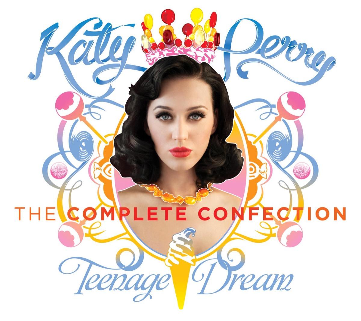 "Katy Perry ""Teenage Dream"" album cover"