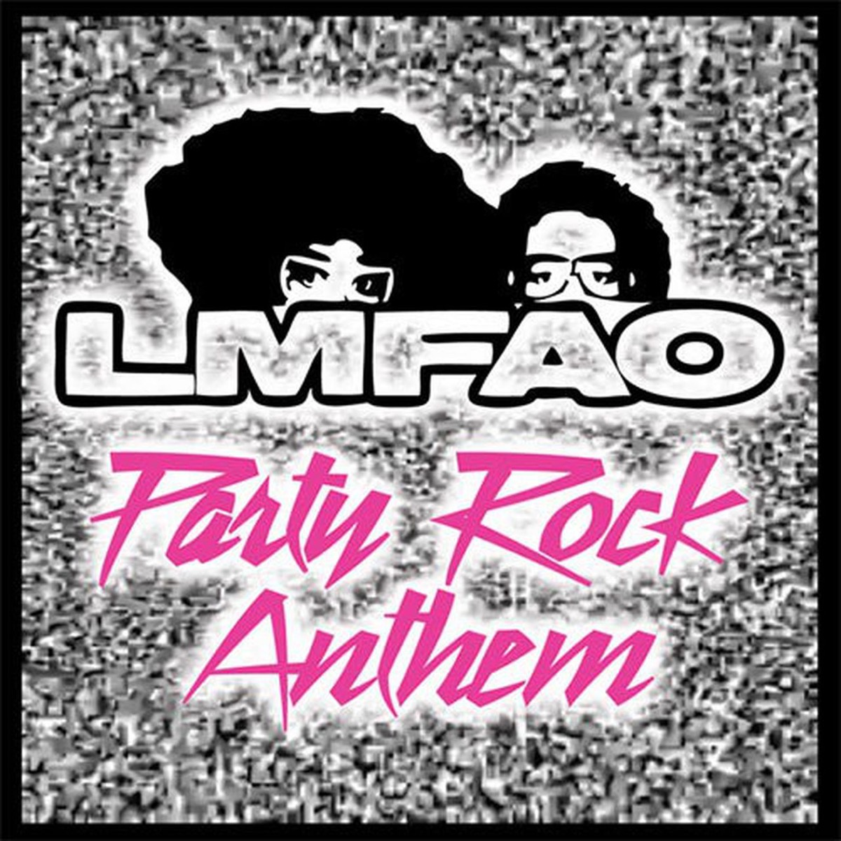 """LMFAO """"Party Rock Anthem"""" single cover"""