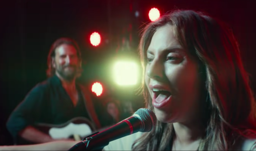 """Lady Gaga and Bradley Cooper in """"A Star Is Born"""""""