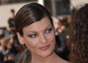 Linda Evangelista at the Cannes Film Festival in 2008