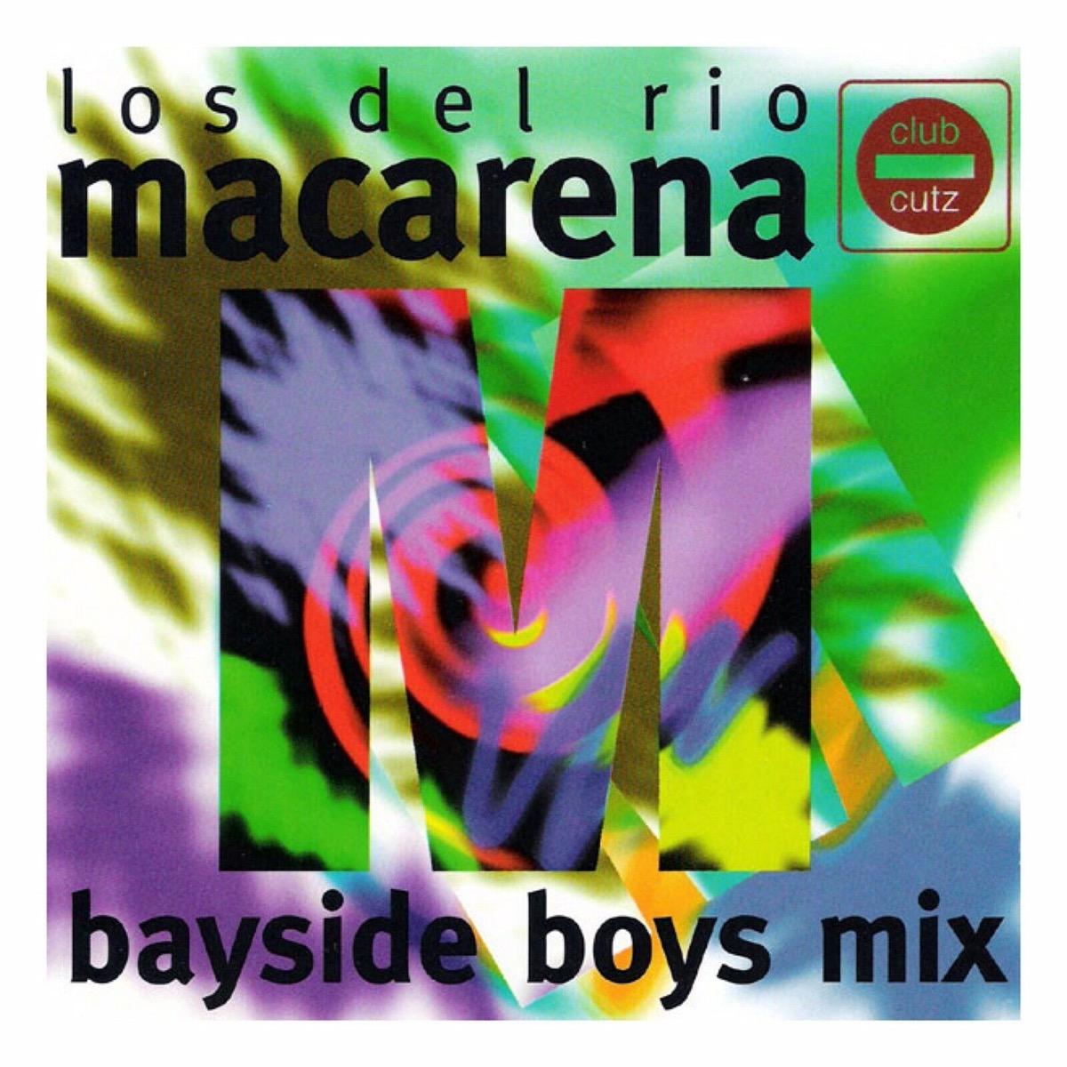 """Los Del Rio """"Macarena"""" single cover"""