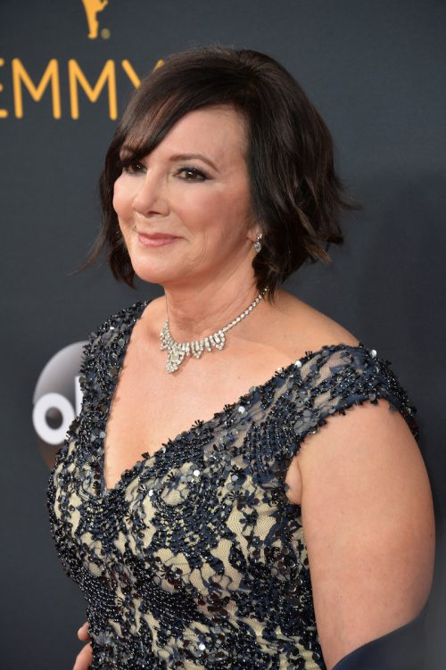 Marcia Clark at the 2016 Emmy Awards