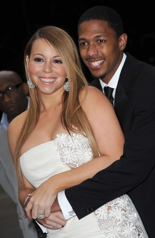 Mariah Carey and Nick Cannon at The Fresh Air Fund Salute to American Heroes in 2009